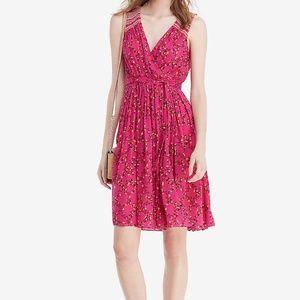 NWT Diane von Furstenberg Floral Silk Wrap Dress